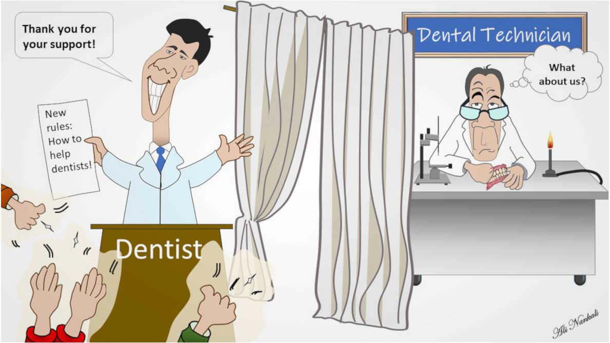 歯科技工士に不足している繋がり